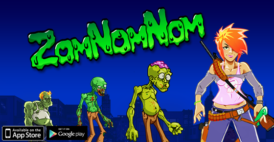 ZomNomNom Available on Your iPhone, iPad and Android Devices
